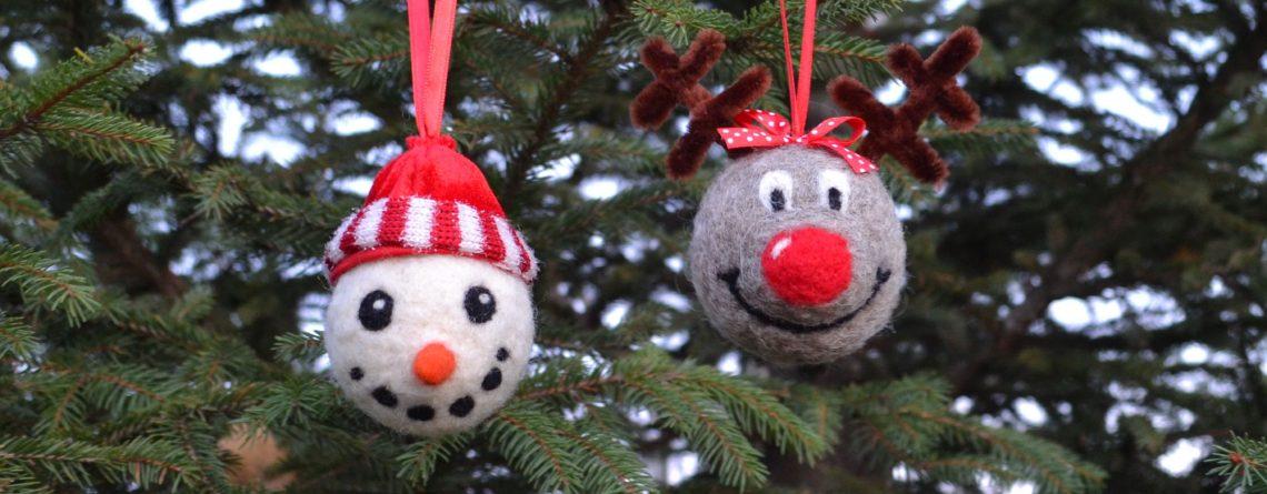 tűnemezelt karácsonyfadíszek